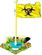 Flag biohazard