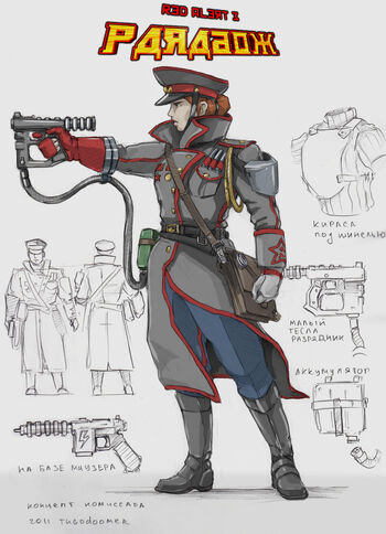 Soviet commissar for paradox by tugodoomer-d3caqpi