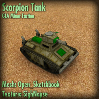 GLA ScorpionTankRender
