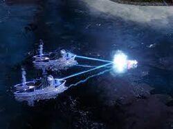 Allied Alert Icebreaker attacking