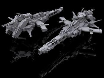 EotRS Aerial Battleship Musashi (Aerial Mode)
