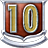 V badge Level10Badge