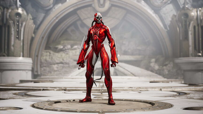 Kallari Red Death skin