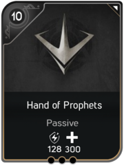 Hand of Prophets card