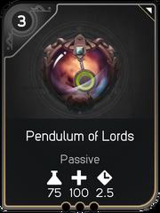 Pendulum of Lords card