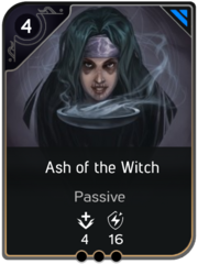 Ash of the Witch card