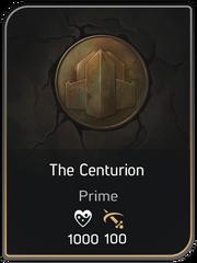 The Centurion card