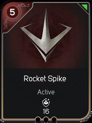 Rocket Spike card