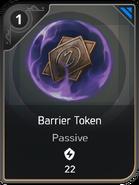 Barrier Token