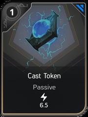 Cast Token card