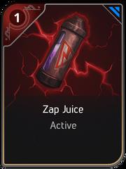 Zap Juice card