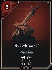 Rust-Breaker card
