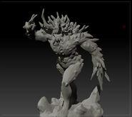 3D Behmoth by Draidecht