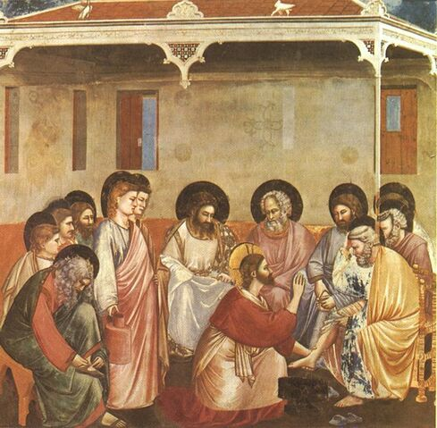 File:Giotto - Scrovegni - -30- - Washing of Feet.jpg