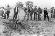 The death of outlaw John Sontag (1893)