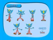 Anime DVD character sheets Katy