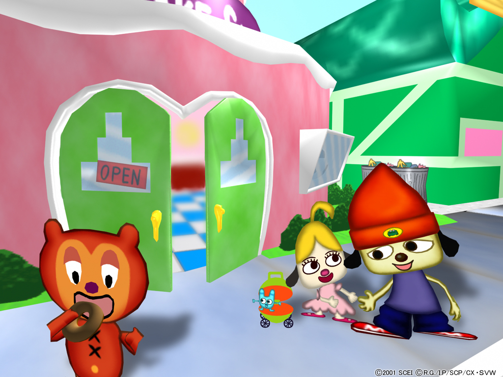 Parappa The Rapper Food Court