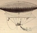 Giffard-style steam-powered airship
