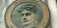 Hasdeu, Julia Petriceico (plaque)
