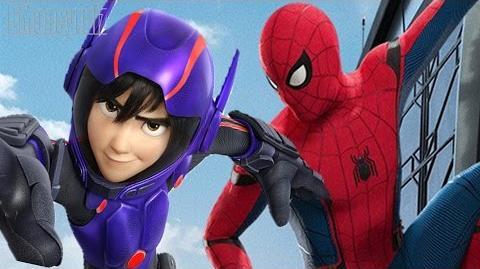 Disney Pixar's 'Spider-Man Homecoming' Mash-Up Trailer 2