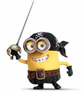 Pirate minion 6