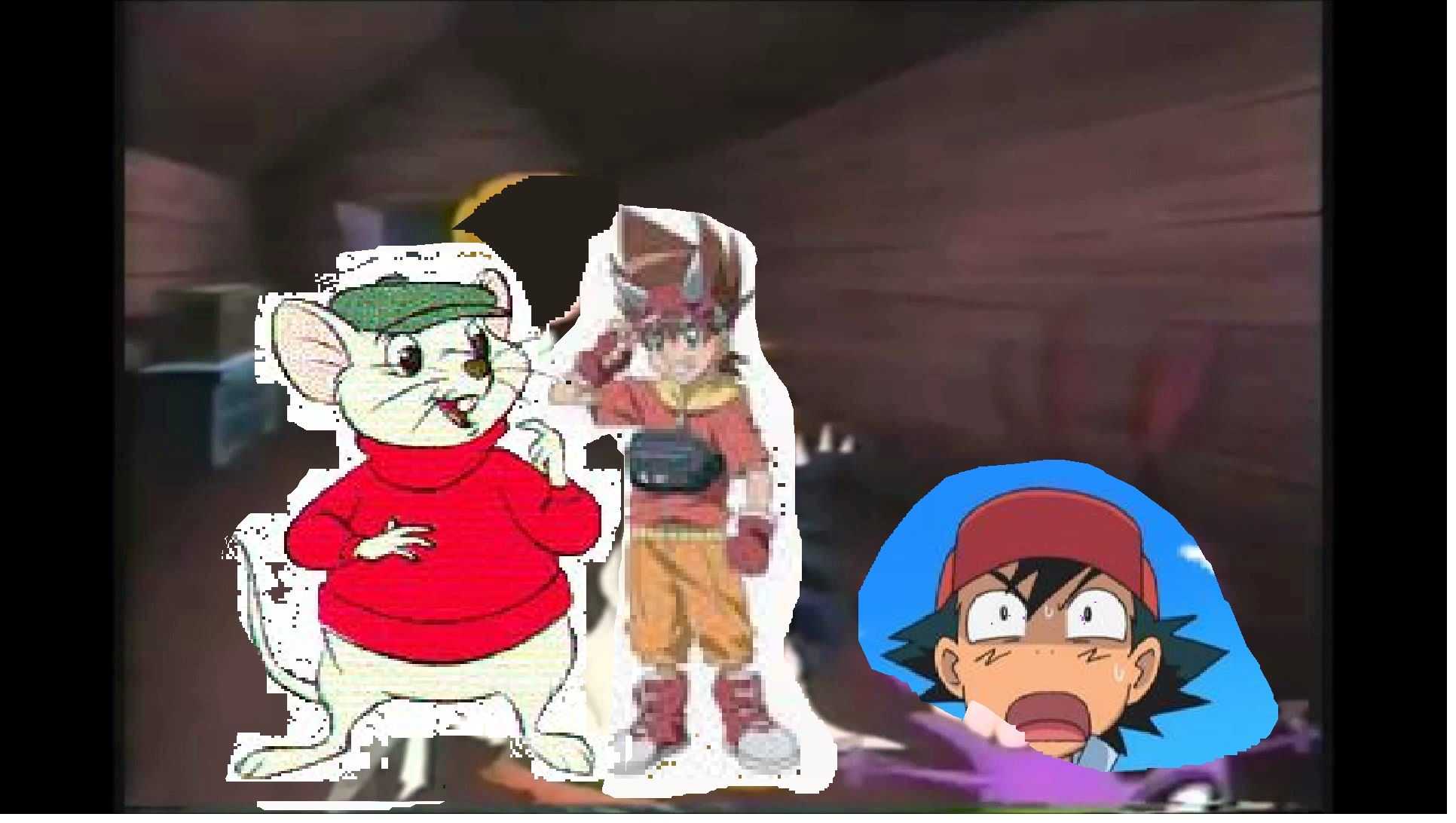 Ash The Cowardly Boy Promo Bernard And Max The Parody