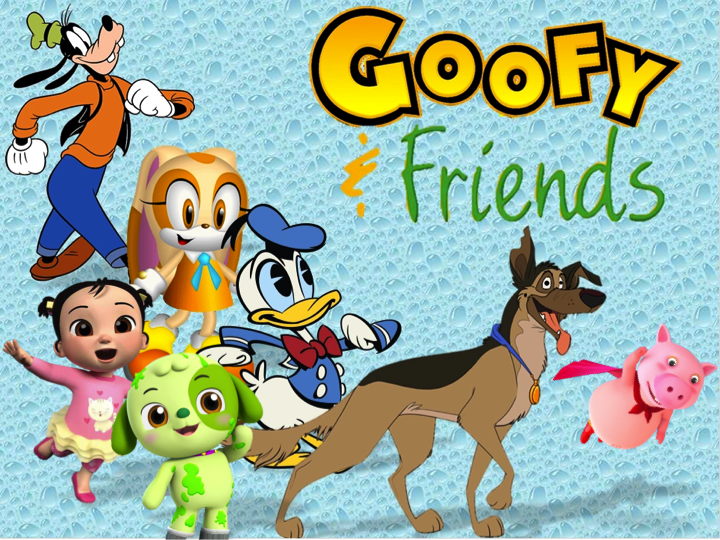 Goofy and Friends (a.k.a. Barney and Friends) | The Parody ...