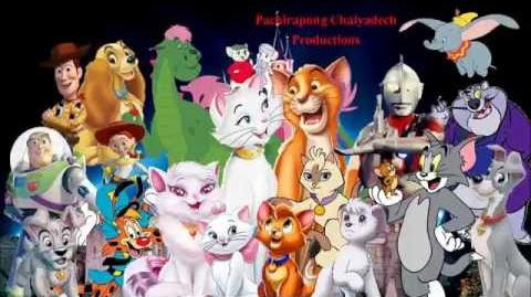 The Aristocats (Pachirapong Style) | The Parody Wiki ...
