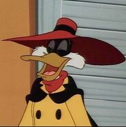 Negaduck a mean and nasty fiend