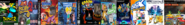 Thomas 2, Card Escape 2, Ten Cents 2, Arnold and Courage 2, Theodore Bandicoot 2, Little Big Planet 2, Sly Simpson 2, SSX 2, Epic Thomas O' Malley 2, and Bart Simpson 2.