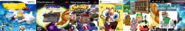 Thomas Raving Minions 1, The Legend of Ten Cents 2, Theodore Nitro Kart, RayBob Mants 7, South Park 7, and Tom and Bobert 7.