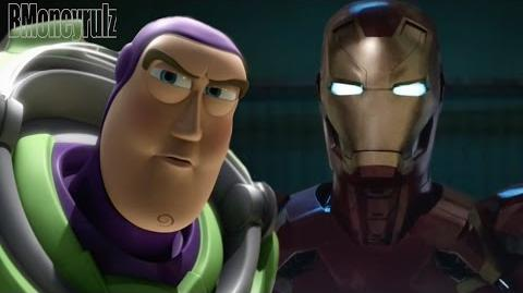 Disney Pixar's 'Captain America Civil War' Super Bowl Trailer Parody