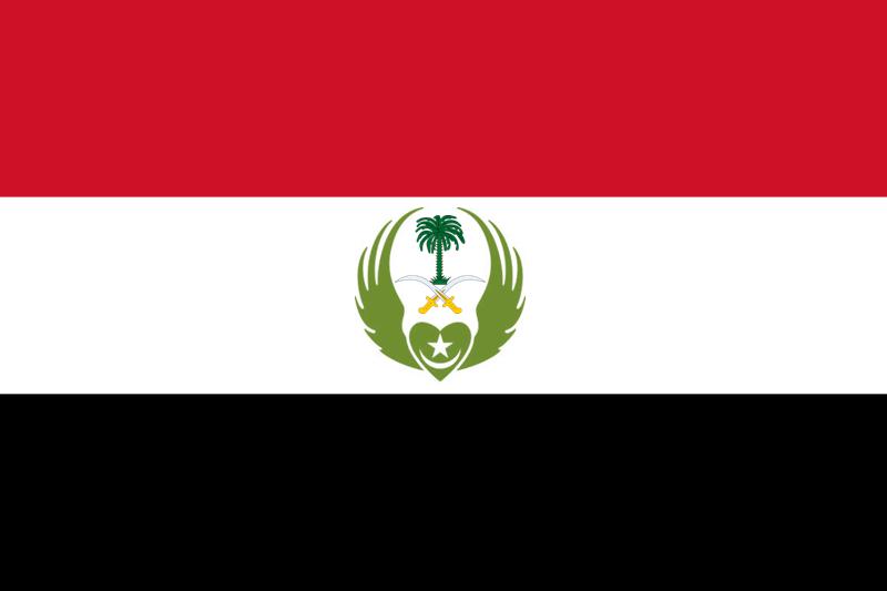 The Flag of the al-Mamlakah al-Qalbiyah al-Majaliyah (Majalite Kingdom of Kafuristan)