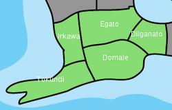 Map of Cobura