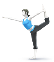 Wii Fit Trainer for SSB4