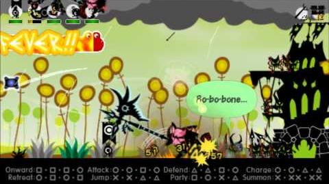 Patapon 3 Walkthrough Extra Bonedeth Brigade in Tahi-Tahi Forest