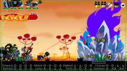Patapon 3 Walkthrough Extra Wipe the Grin off the Gargoyle