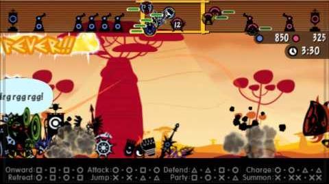 Patapon 3 Walkthrough pt 45 Dark Heroes' Last Stand