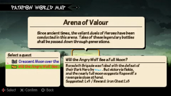 Will the angry wolf see a full moon quest info