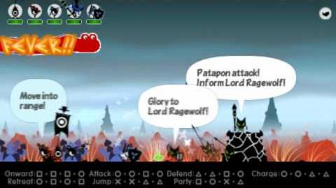 Patapon 3 Walkthrough pt 3 Field of Angry Giants - Traverse the Field of Giants