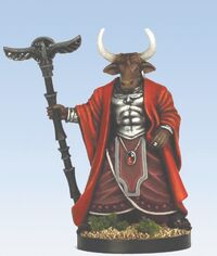 Minotaur prince of Absalom mini