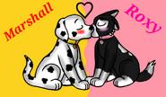 Kisses by sashathehusky-d82g96r