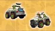 Monkey-dinger 19 (Tracker's Jeep)