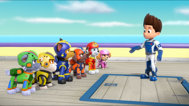 File:PAW Patrol Air Pups Ryder Marshall Rubble Chase Rocky Zuma Skye.png