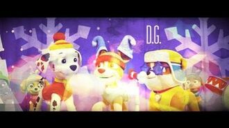 Paw Patrol Pups Winter Wonder Show SONG ♪ ♫ ♩ ♬●ω●