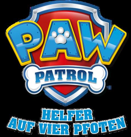 File:PAW Patrol – Helfer auf vier Pfoten Logo PAW Patrol German.png