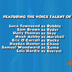 Dubbing cast credits (part 1) from Season 2 Episode 14 to Episode 26 on Nick Jr.