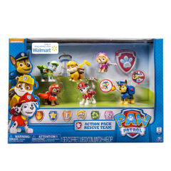 A Walmart-Exclusive set of all 6 Action Pack Pups.