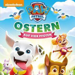 German cover (<i>Ostern auf vier Pfoten</i>)