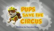 Pups Save the Circus